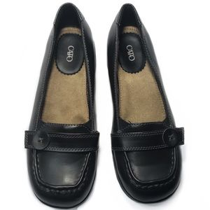 Cato Mary Janes black shoes synthetic leather - 8